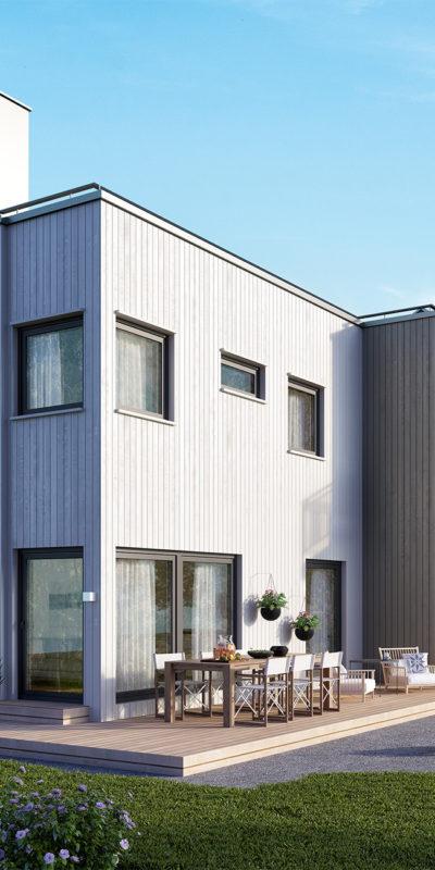 A typical Scandinavian home