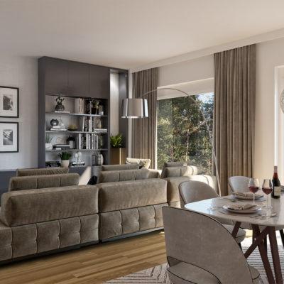 Modern cottage for elderly people