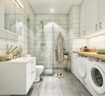 Classic Swedish bathroom